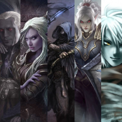 Dark Elf Council